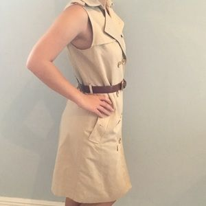 Designer Trench Dress-Michael Michael Kors